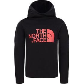 The North Face Drew Peak warstwa środkowa Dzieci czerwony/czarny